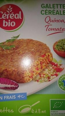 Galettes céréales Quinoa, Tomates - Produit - fr