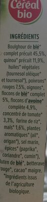 Galettes céréales Quinoa, Tomates - Ingredienti - fr