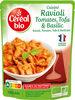 Ravioli tomates tofu & basilic - Prodotto