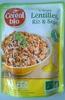 Cuisiné Lentilles, Riz & Soja - Product