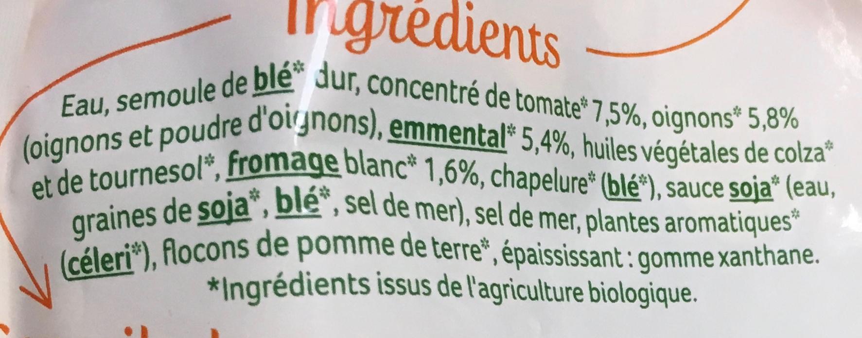 Mini Ravioli 2 fromages - Ingrédients - fr