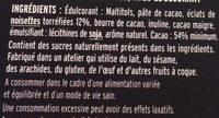 Noir Éclats de Noisettes - Ingrediënten - fr