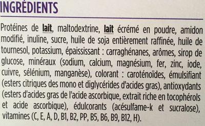 Milical LCD - Crème saveur Vanille - Ingredients