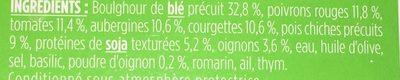 Mes recettes vegetales - Ingredients - fr