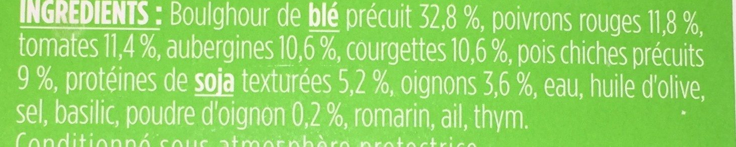 Mes recettes vegetales - Ingredients