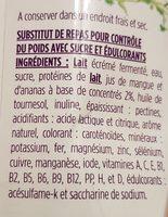 Repas complet saveur fruits exotiques - Ingrédients - fr
