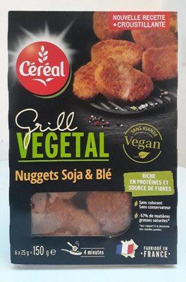 Grill végétal - nuggets soja & blé - Product