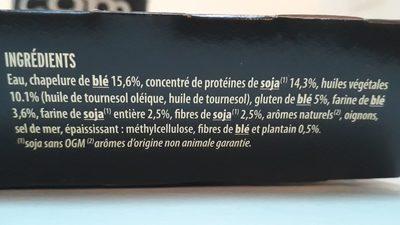 Grill végétal - nuggets soja & blé - Ingredients