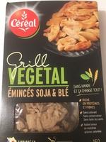 Grill Végétal Émincés Soja & Blé - Producto - es