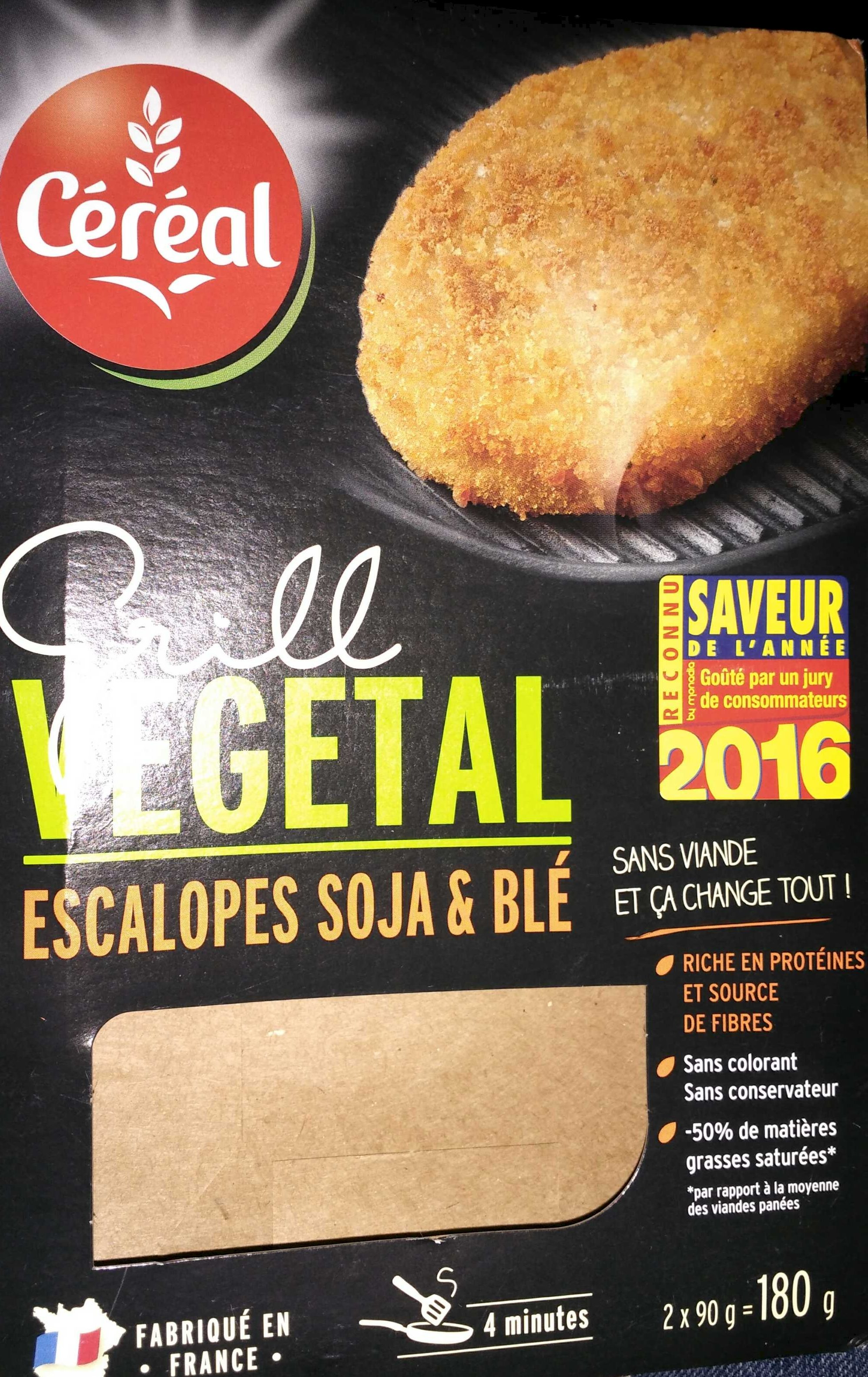 Escalopes soja & blé - Produit - fr
