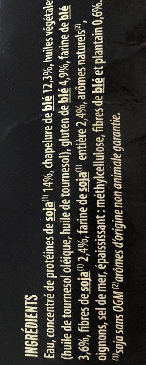 Escalopes soja & blé - Ingrédients - fr