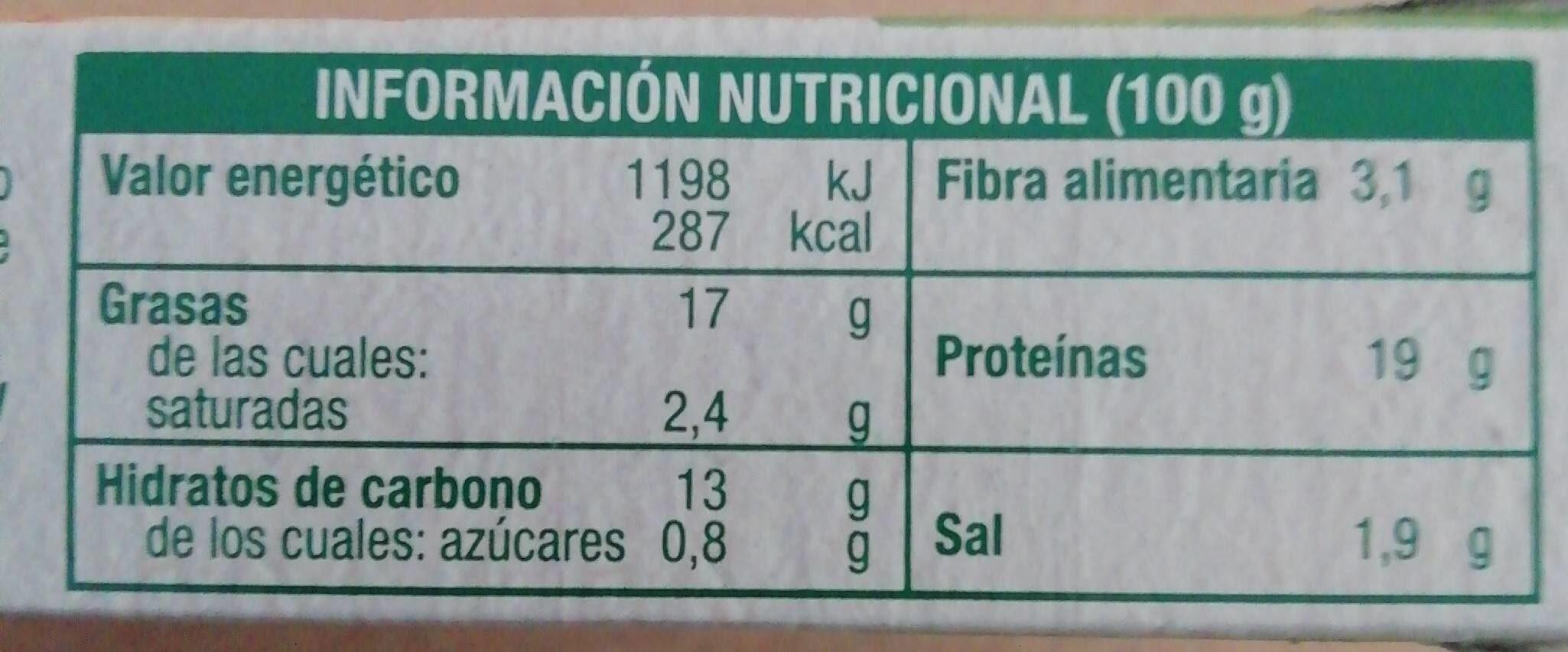 Grill végétal - Escalopes soja & blé - Informations nutritionnelles - fr