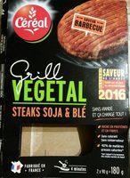 Steaks soja & blé - Produit