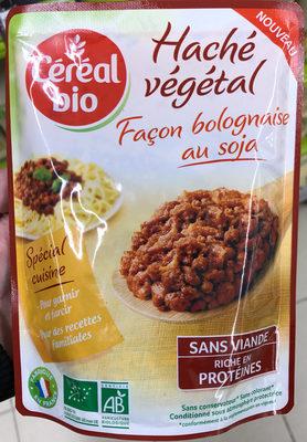 Haché végétal façon bolognaise au soja - Product - fr