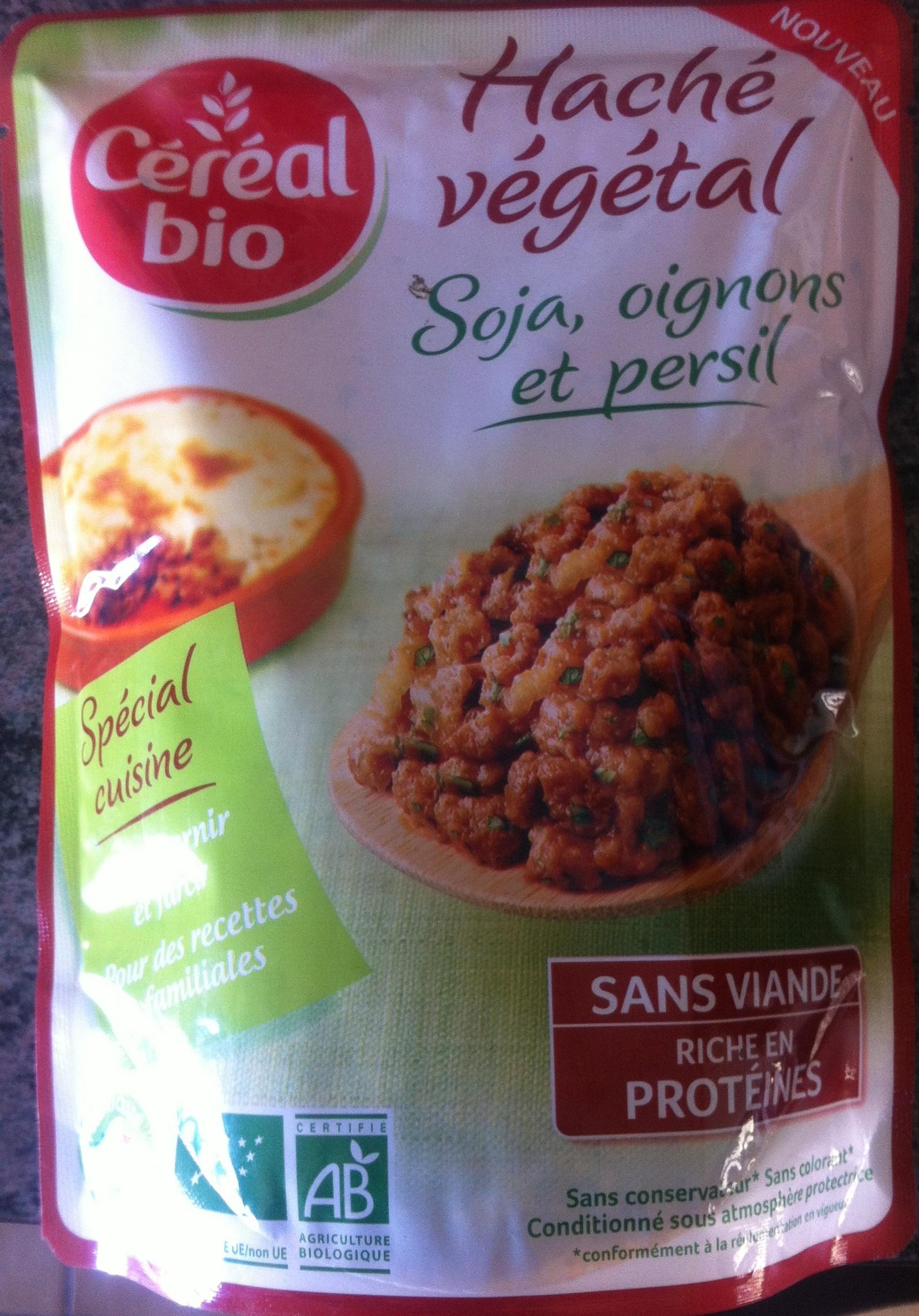 Haché végétal (Soja oignons et persil) - Produit