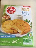 Galettes Polenta Ricotta et Fines Herbes - Product