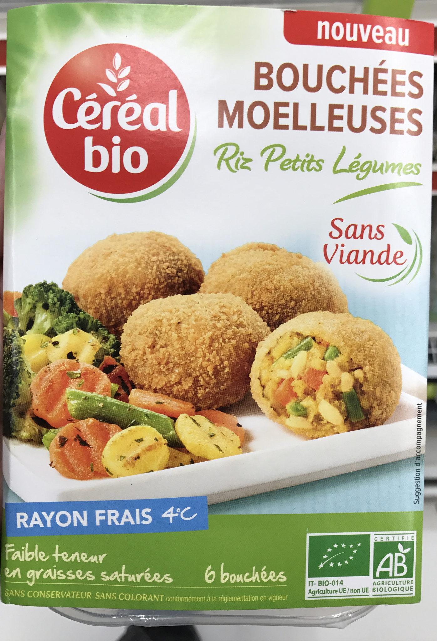 Bouchées moelleuses Riz Petits Légumes - Product - fr
