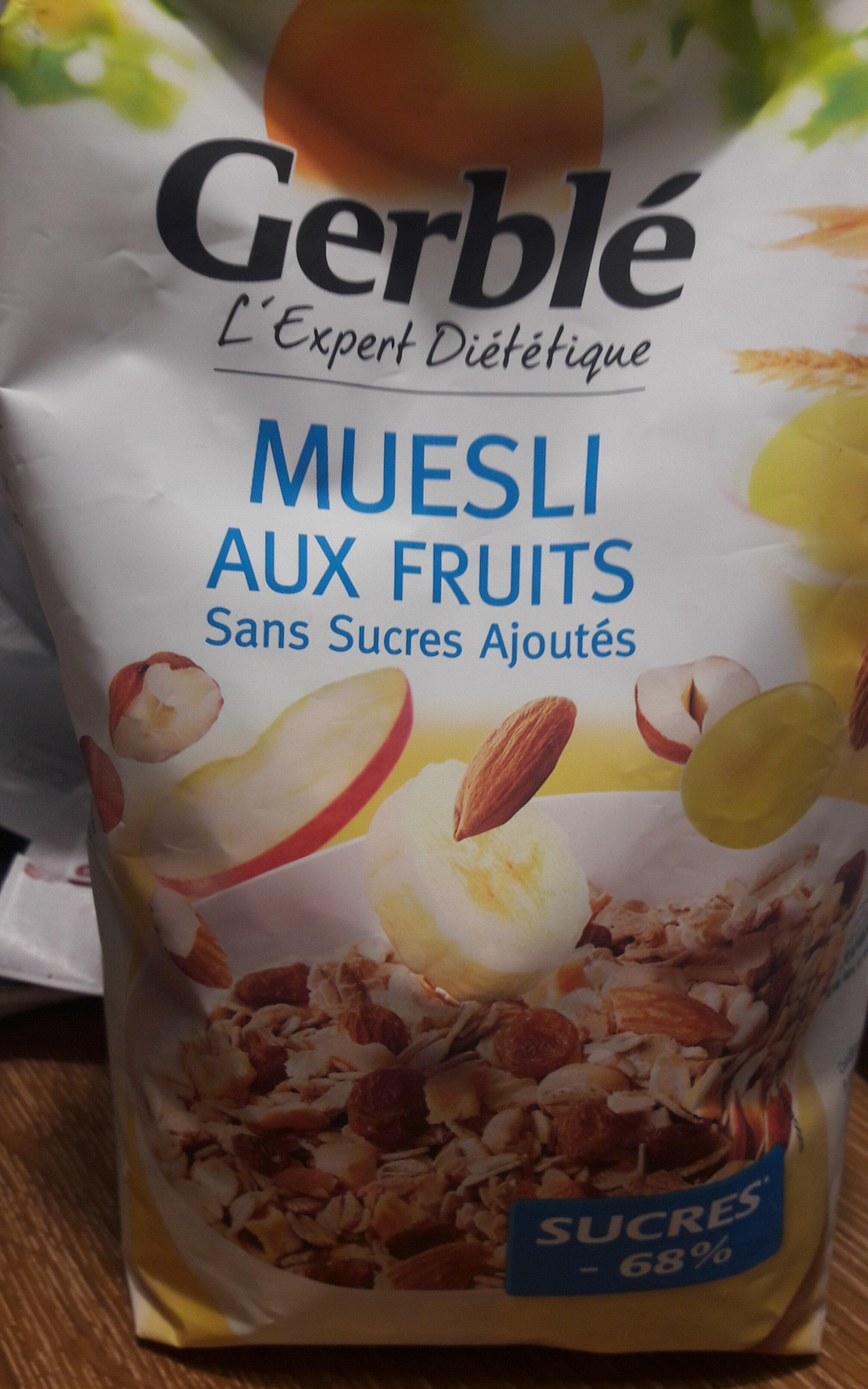 Muesli aux fruits - Produit - fr