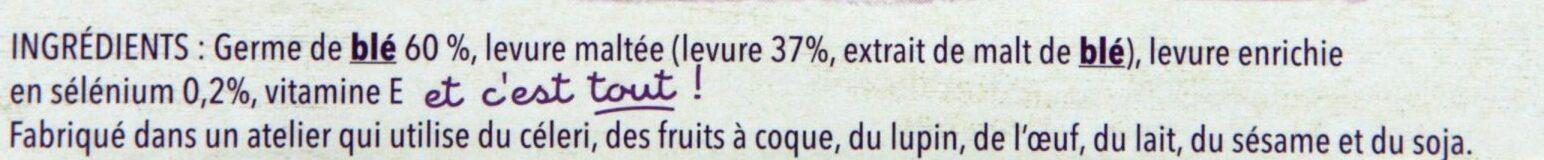 Sélégerme - Ingrediënten - fr