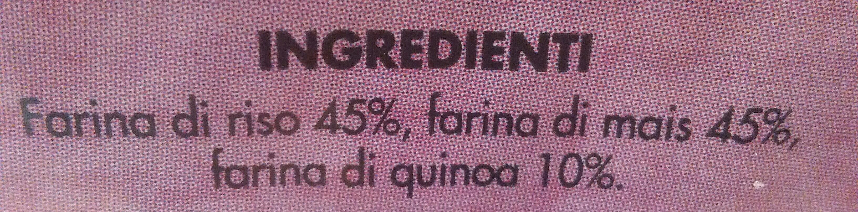 Fette di riso mais e quinoa - Ingrédients - it