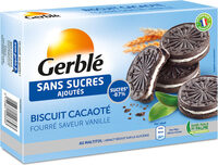 Biscuit ss sucres ajouté cacao vanille - Product - fr
