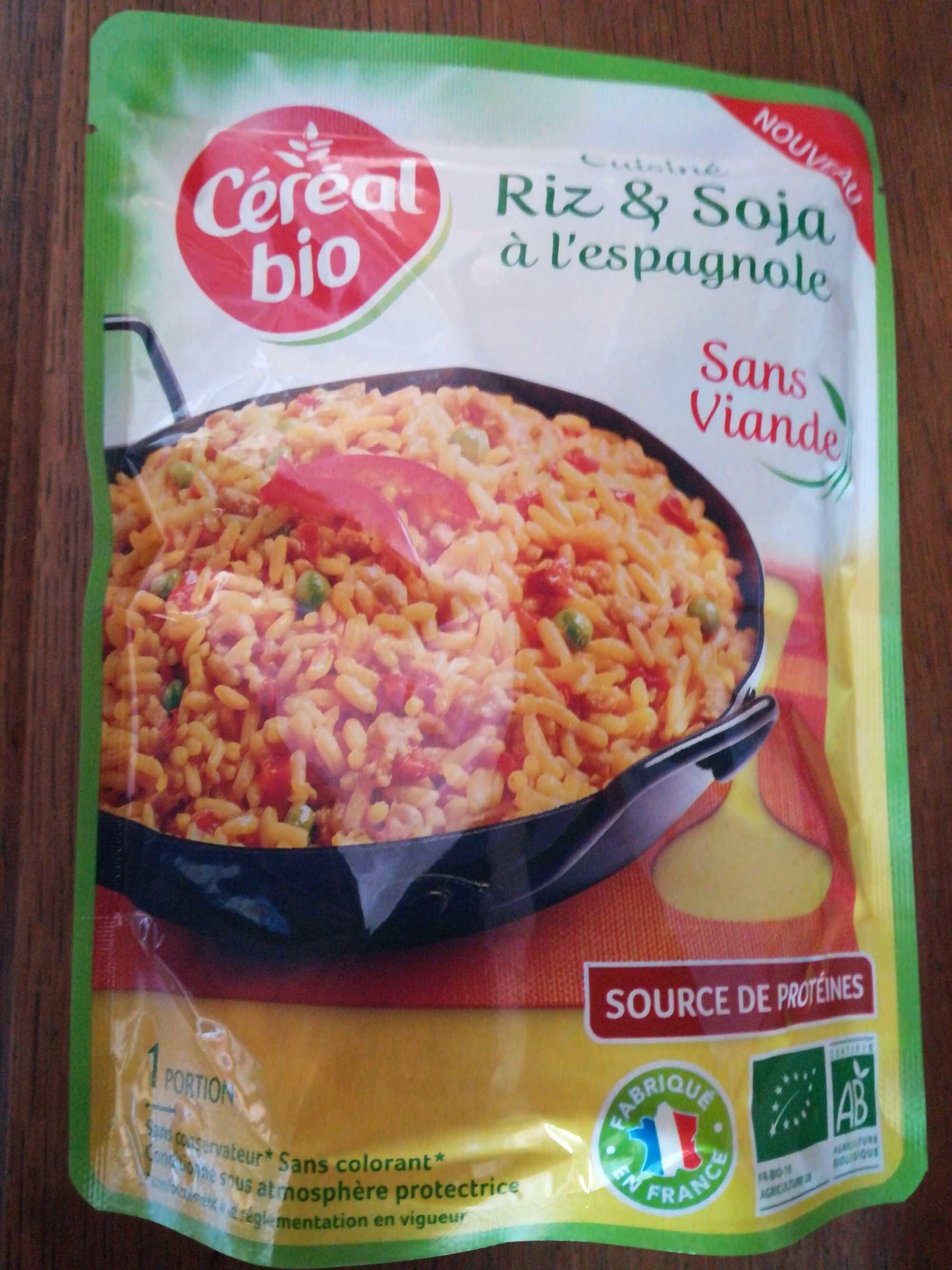 Cuisine riz et soja a l'espagnole - Produit - fr