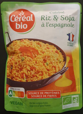 Cuisine riz et soja a l'espagnole - Prodotto - fr