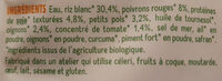 Cuisine riz et soja a l'espagnole - Ingredienti - fr