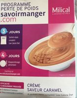 Milical LCD - Crème Au Caramel - Produit - fr
