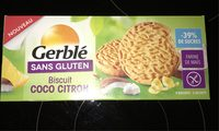 Biscuit coco citron - Product - fr