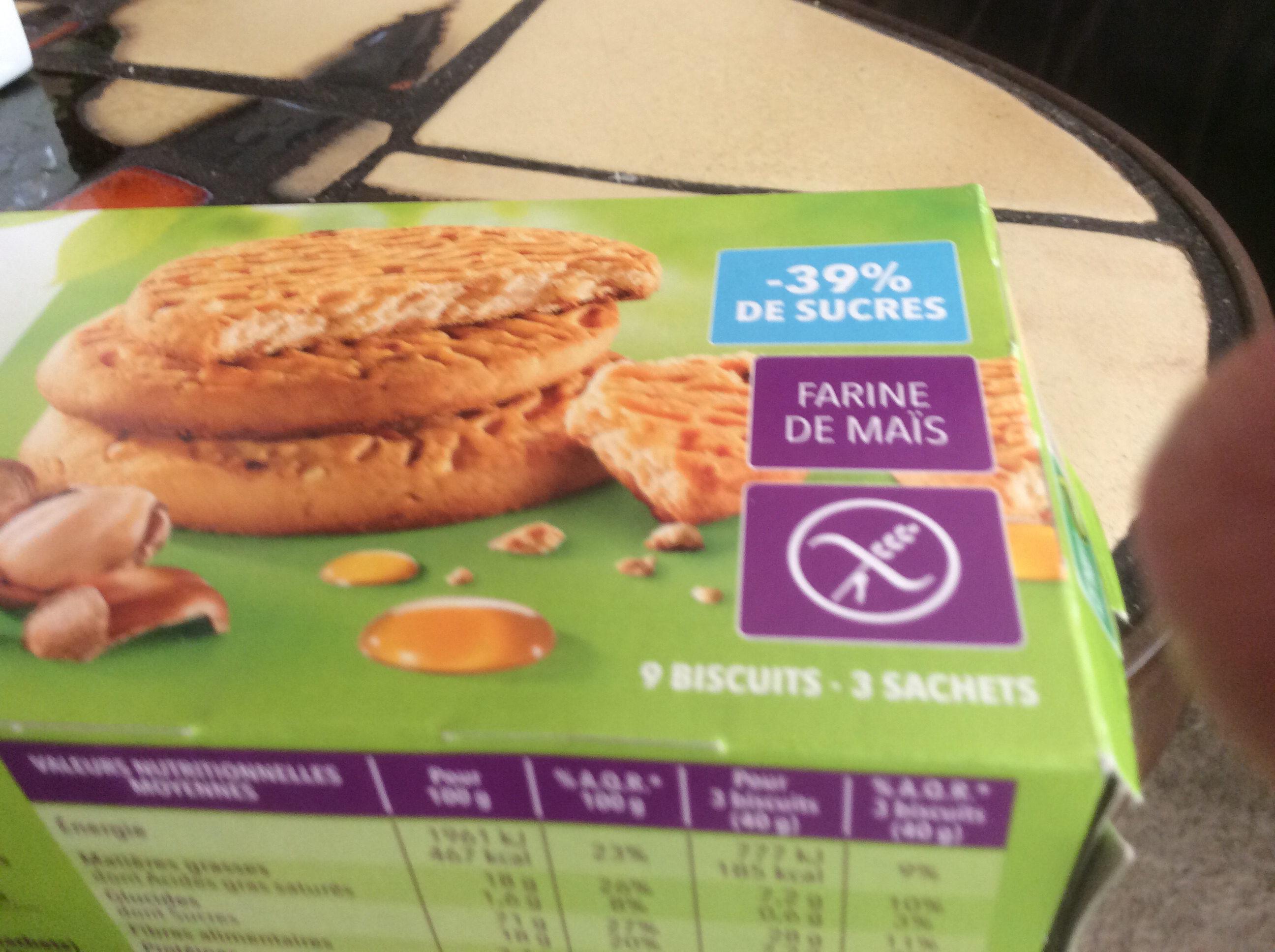 Biscuit Miel Noisette sans gluten - Product - fr