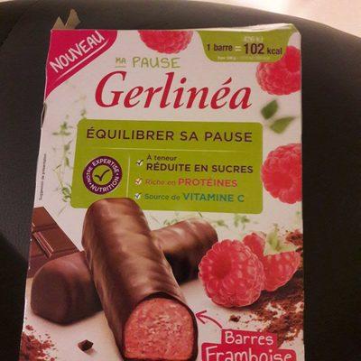 Barres minceur framboise chocolat - Produit - fr