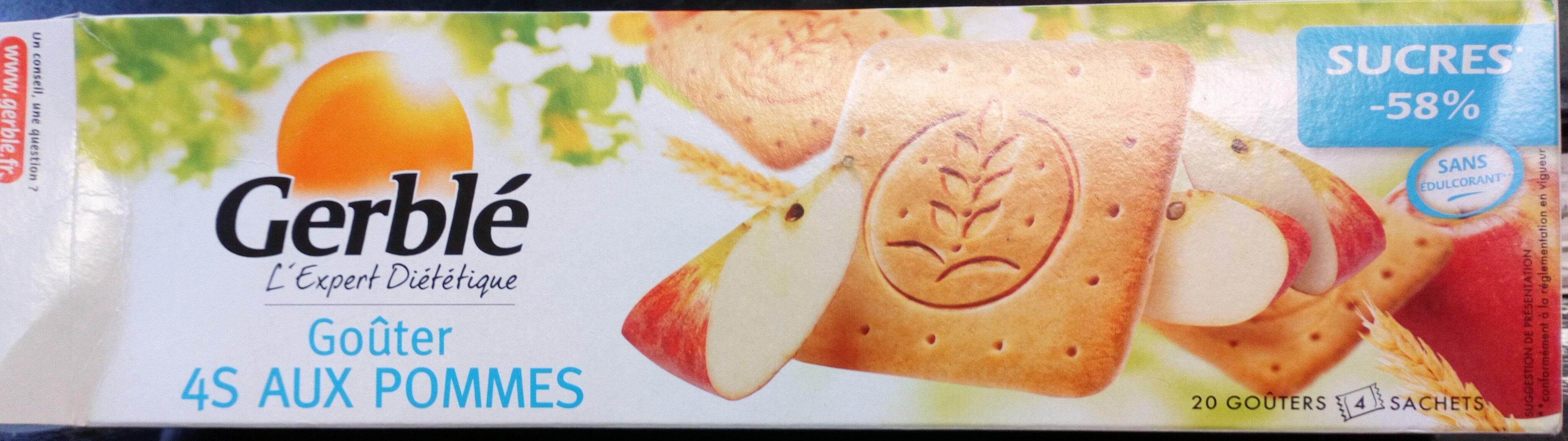 Biscuits aux pommes - Produit - fr