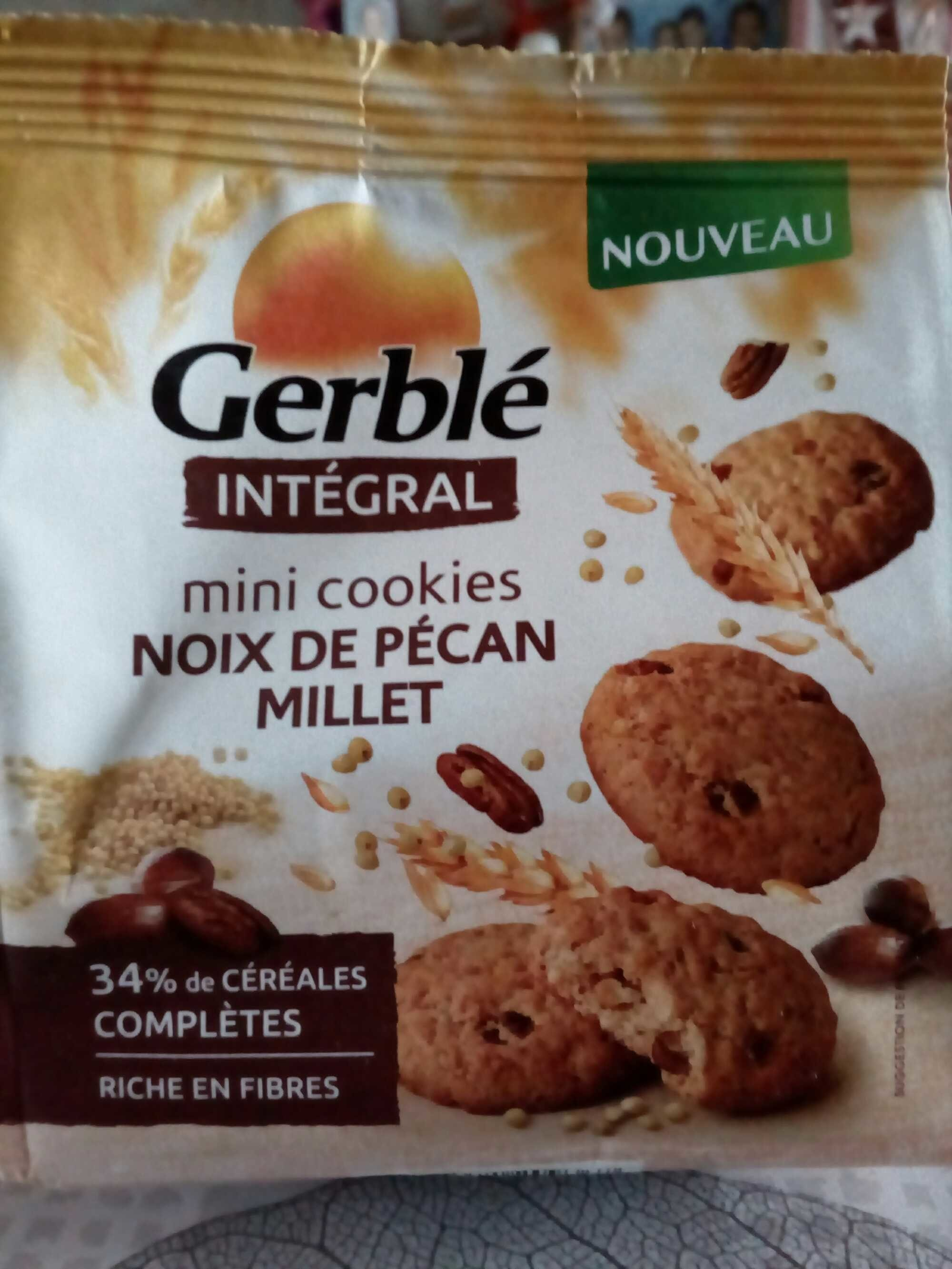 Intégral - Mini cookies noix de pécan millet - Prodotto - fr