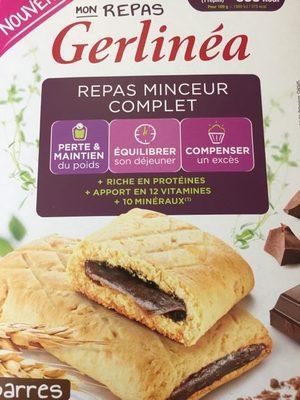 Mon Repas Minceur barre Chocolat saveur Noisette - 1
