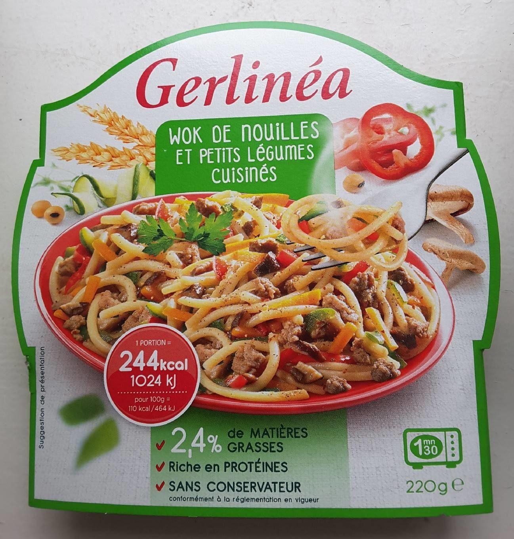 Wok de Nouilles et Petits Légumes Cuisinés - Product