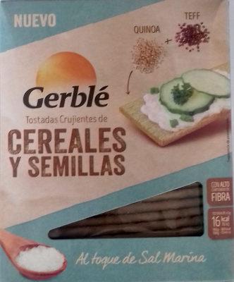 Tostadas crujientes de cereales y semillas Quinoa Teff - Producto