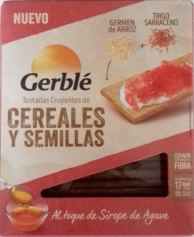 Tostadas crujientes de cereales y semillas - Producto - es