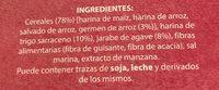 Gerblé - Ingrédients