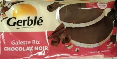 Galette riz chocolat noir - Prodotto - fr