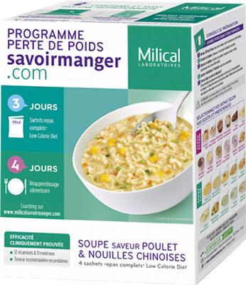 Soupe Nouilles chinoises saveur poulet - Produit - fr