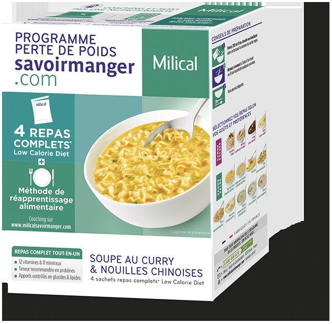 Milical LCD - Soupe au Curry & Nouilles Chinoises - Produit