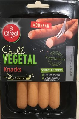 Grill Knacks Végétal - Product - fr