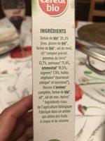 carrés de blé - Ingredienti - fr