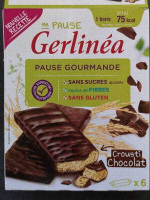 Pause gourmande Crousti chocolat - Product - fr