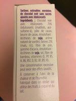 Pause gourmande crousti chocolat - Ingrediënten - fr