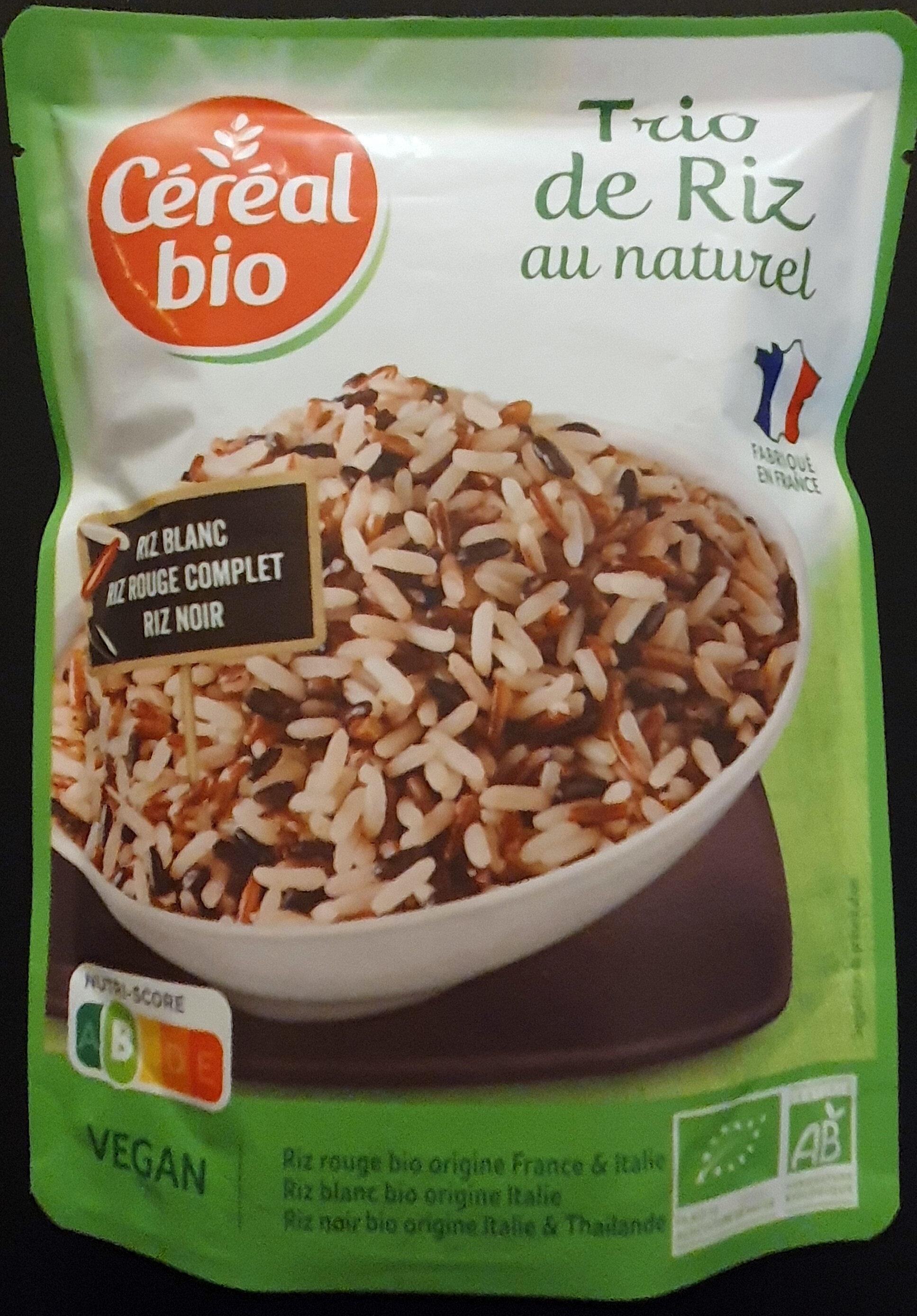 Trio de riz au naturel - Prodotto - fr