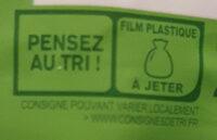 Trio de riz au naturel - Istruzioni per il riciclaggio e/o informazioni sull'imballaggio - fr