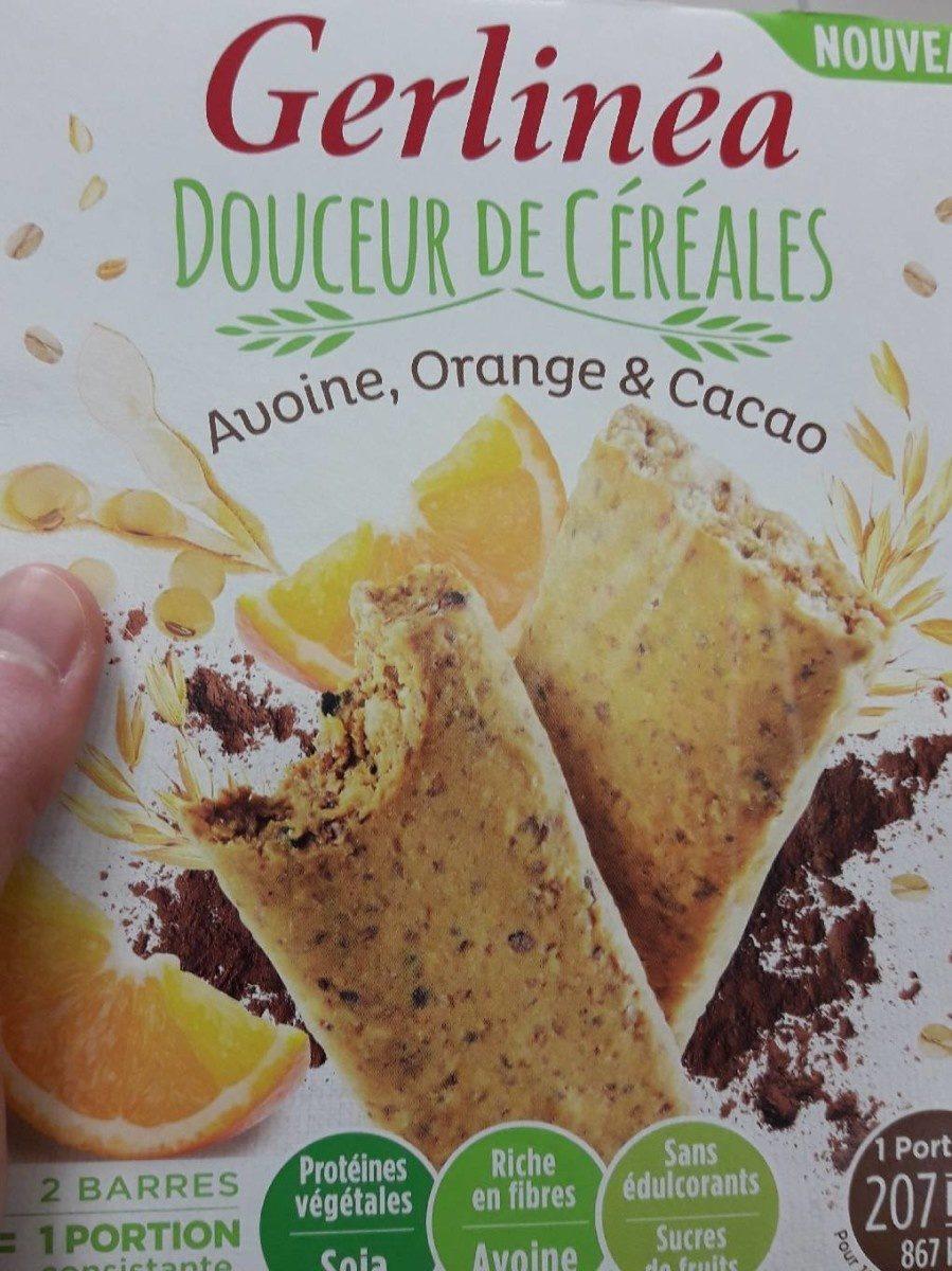 Mon repas minceur Barre Avoine Orange Cacao - Product