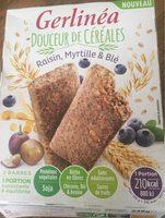 Douceur de céréales raisin myrtille blé - Product